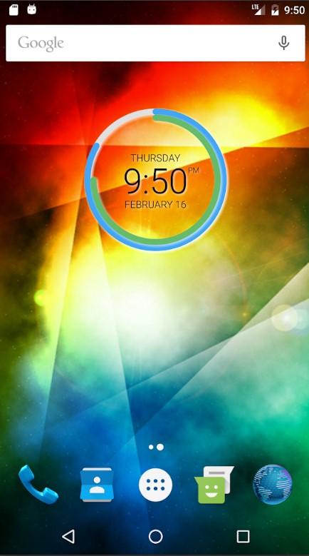 виджеты для Android часы фото 1