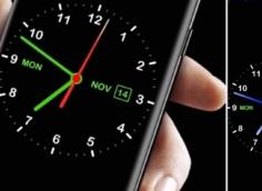 как вернуть часы на экран Android фото 2