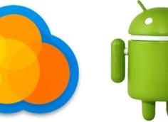 как пользоваться облаком на Android