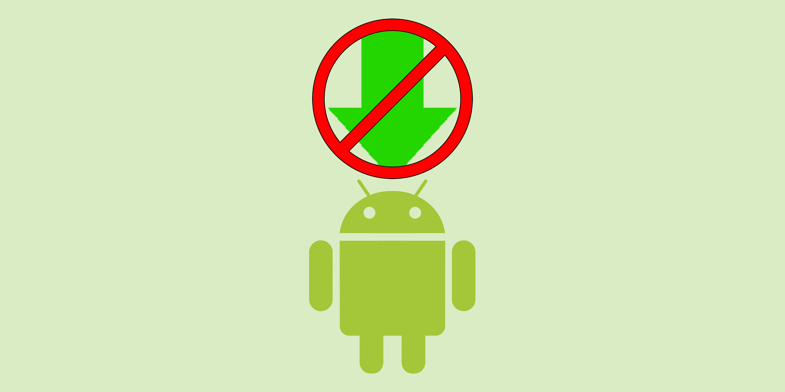 Как запретить обновления на Android