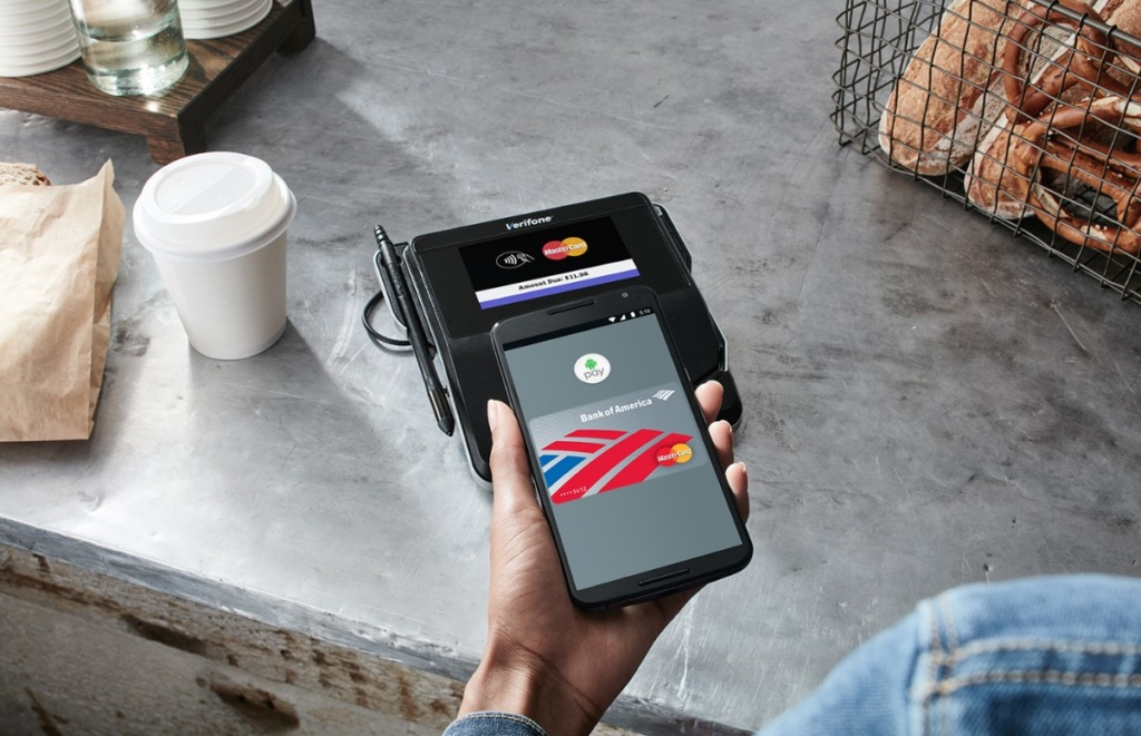 как зарегистрироваться в Android Pay