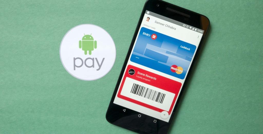 как пользоваться Android Pay с телефона