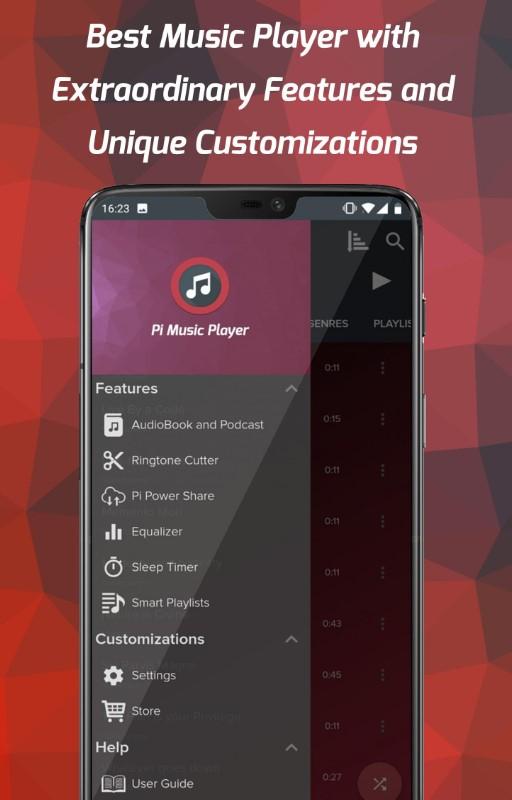 музыкальный проигрыватель на Android