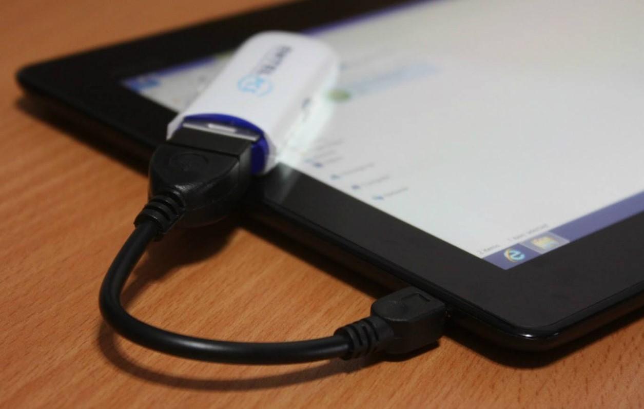 Как подключить 3G модем к планшету Android