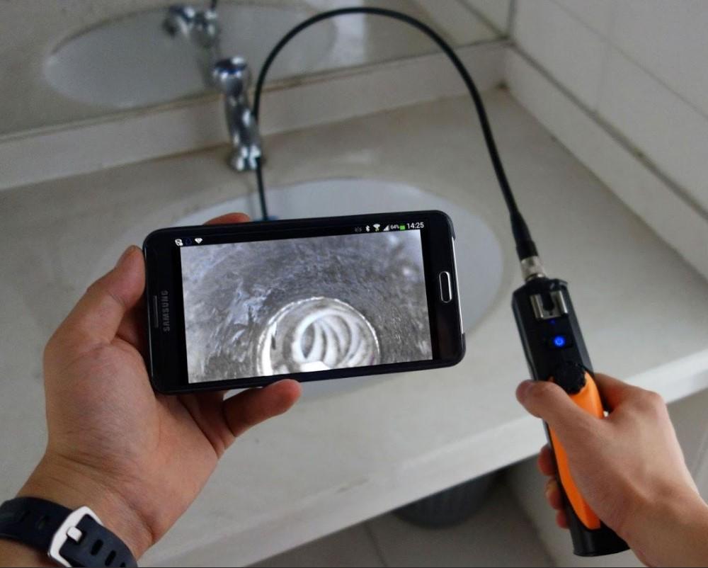 как подключить эндоскоп к смартфону