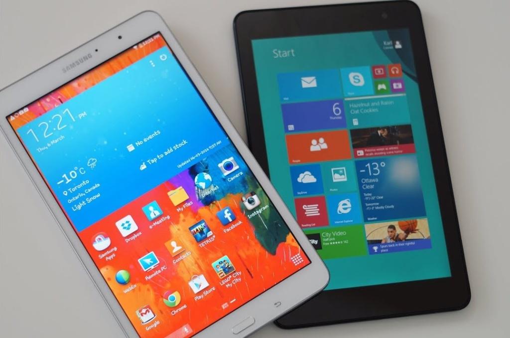 планшет Android или Windows что лучше