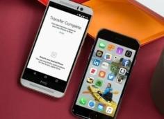 как перенести данные с андроида на айфон